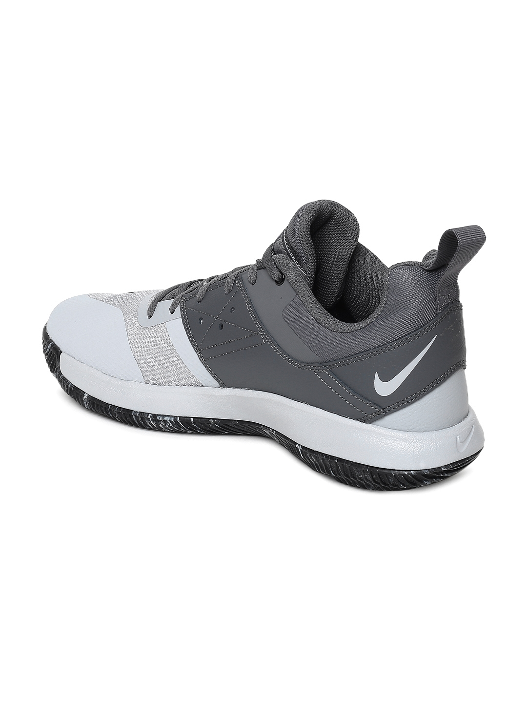 310deb930296e Buy Nike Men Grey NIKE FLY.BY LOW II Basketball Shoes - Sports Shoes ...