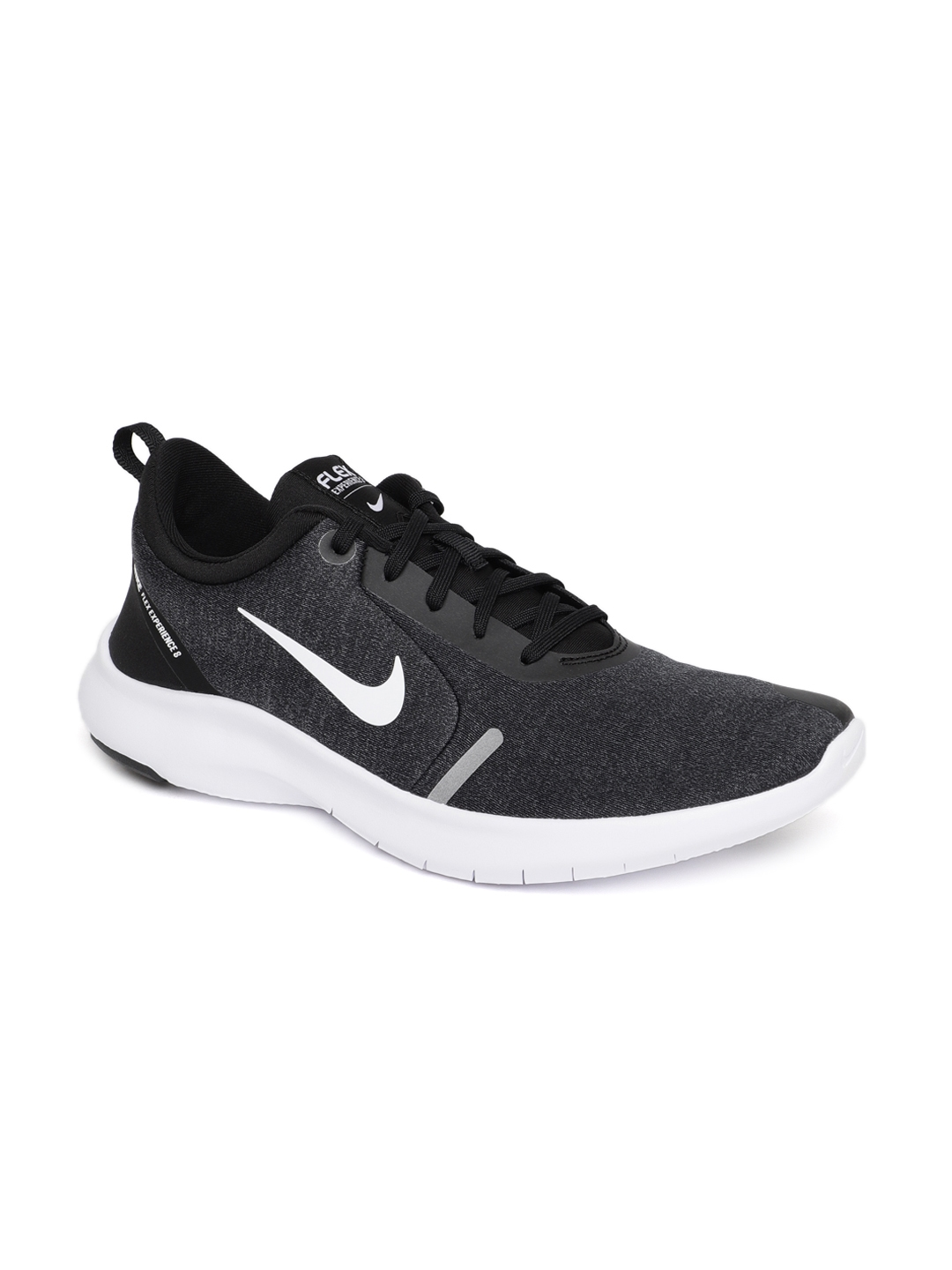 3d386bd4579 Buy Nike Men Black FLEX EXPERIENCE 8 Running Shoes - Sports Shoes ...
