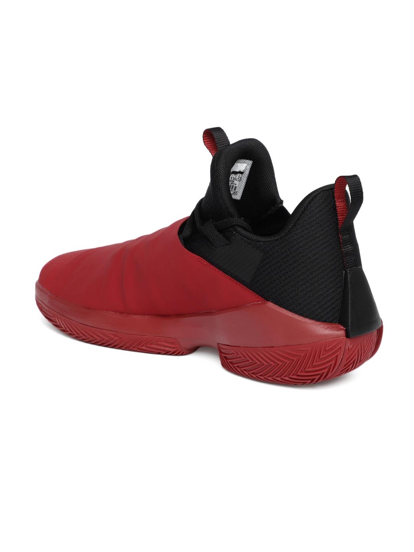 a954696e3f97 Buy Nike Men Red   Black JORDAN JUMPMAN HUSTLE Mid Top Basketball ...