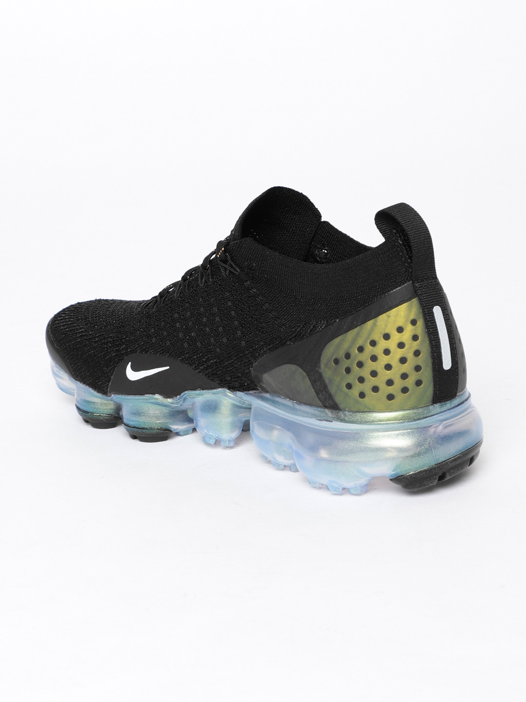 1747cb46fbc49 Nike Men Black Air VaporMax Flyknit 2 Sneakers. Rs. 19995Additional ...