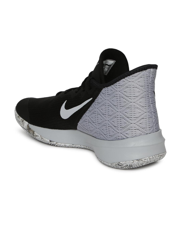 dd9174fc4febf Buy Nike Men Black & Grey Zoom Evidence III Mid Top Basketball Shoes ...