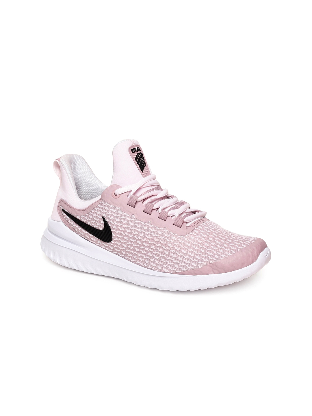 the latest 4f1ff a8e94 Nike Women Pink Renew Rival Running Shoes