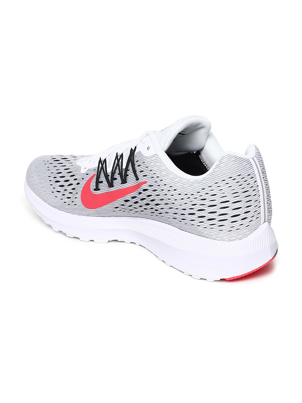 5007fdbc Buy Nike Men Grey NIKE ZOOM WINFLO 5 Running Shoes - Sports Shoes ...