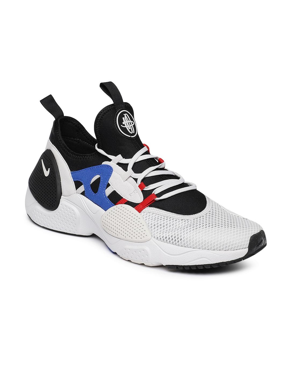 Buy Nike Men Off White \u0026 Black HUARACHE