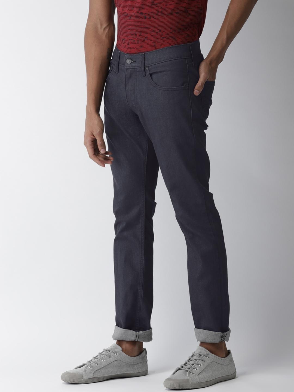 008936fa Levis Men Black Skinny Fit Low Rise Clean Look Jeans 65504