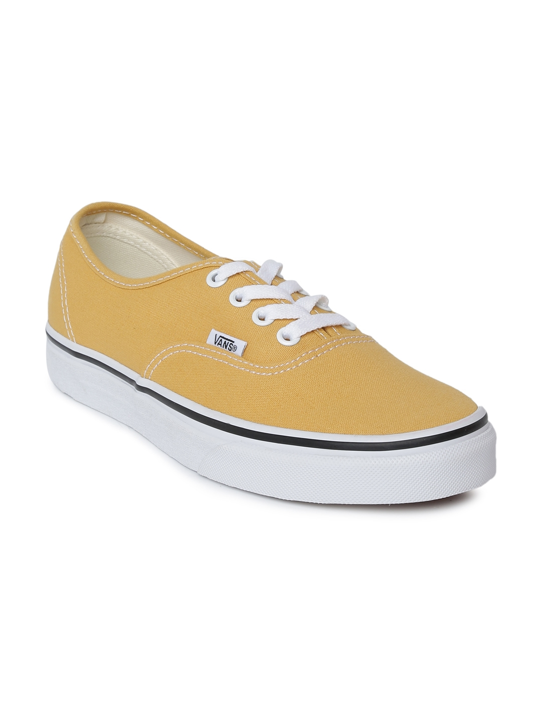 2698bedbb86cfa Buy Vans Unisex Mustard Yellow Authentic Sneakers - Casual Shoes for ...