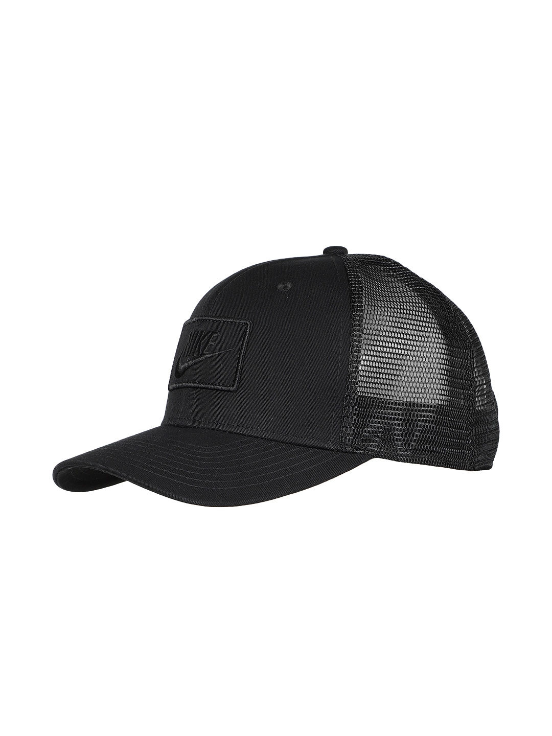 4cb668d99a78b Buy Nike Unisex Black Solid Snapback Cap AQ9879 011 - Caps for ...