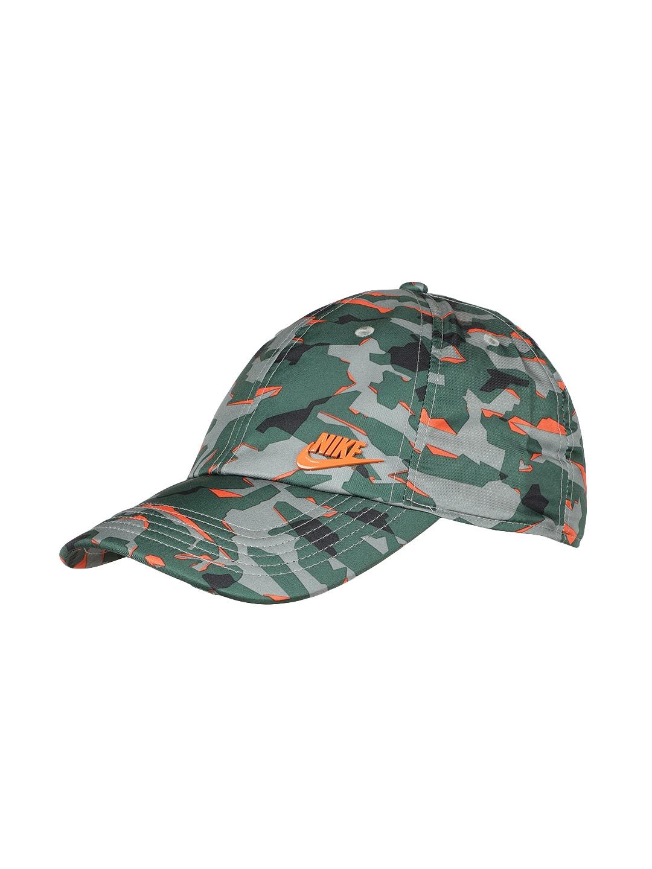 fe95fa295368f Buy Nike Unisex Green Printed Baseball Cap 942212 323 - Caps for ...