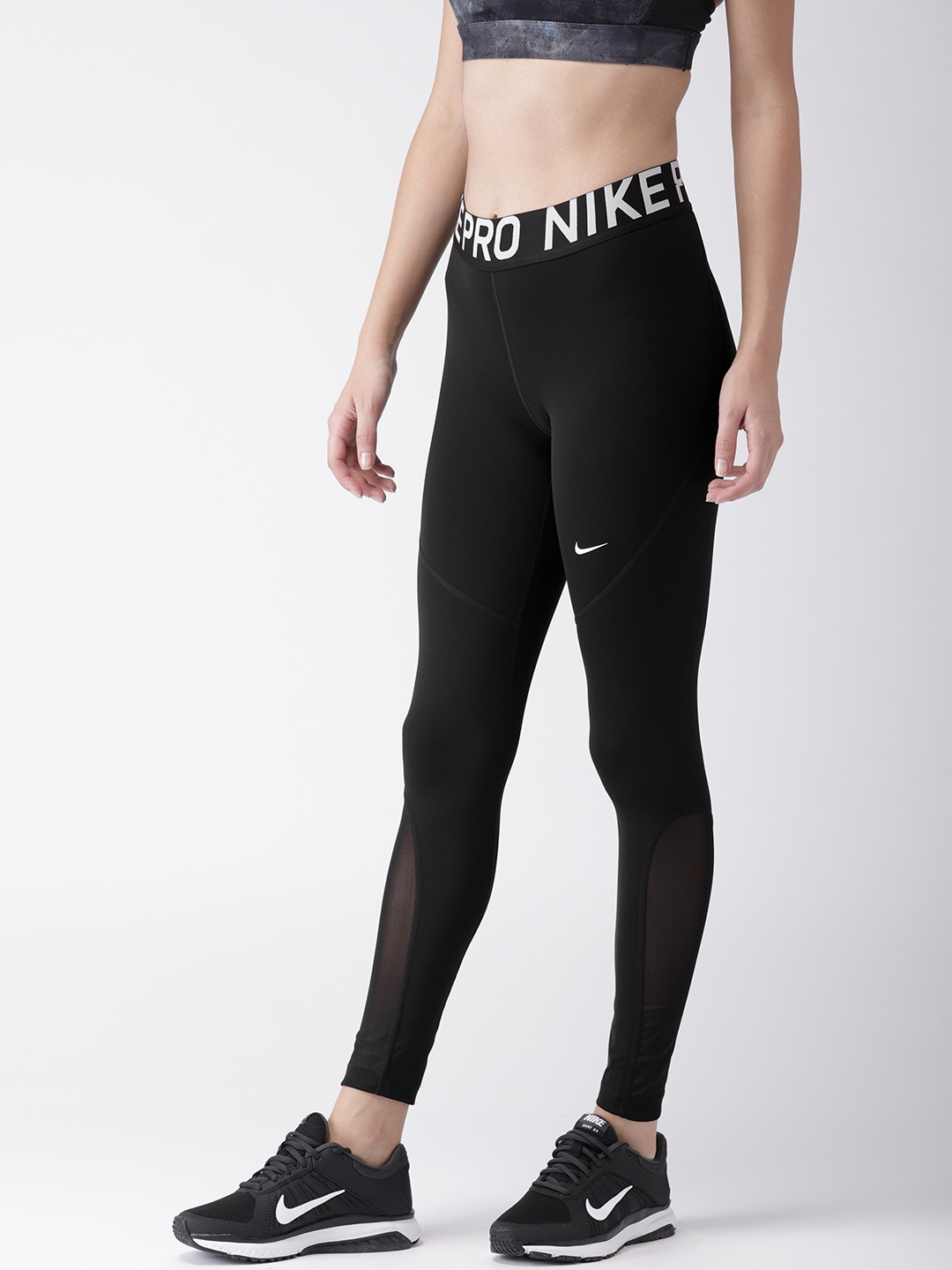 26f6a69d8 Nike Women Black Solid Tight Fit AS W NP TGHT NEW Training Tights. This  product is already at its best price