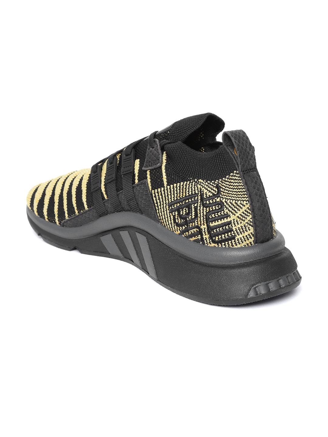 the best attitude 71ad2 bf245 ADIDAS Originals Dragonball Z Men Khaki   Black EQT Support Mid ADV  Primeknit Sneakers