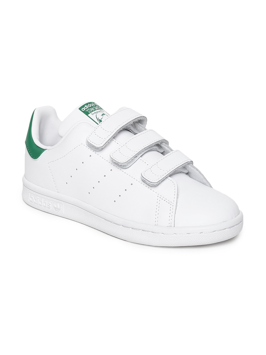 86d74bd74e82f Buy ADIDAS Originals Kids White STAN SMITH CF C Sneakers - Casual ...