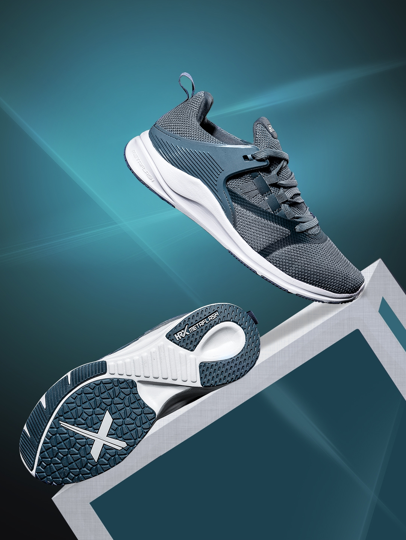 ce02cf1ed Buy HRX By Hrithik Roshan Men Blue Meta Flash Running Shoes - Sports ...