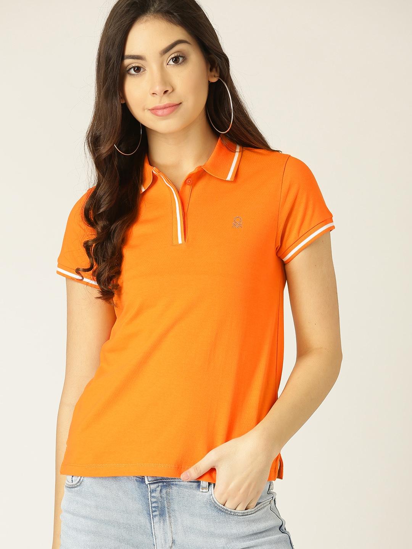 reinado incidente Minúsculo  United Colors of Benetton Damen Poloshirt H/S Polo Shirt Damen Tops, T- Shirts & Blusen