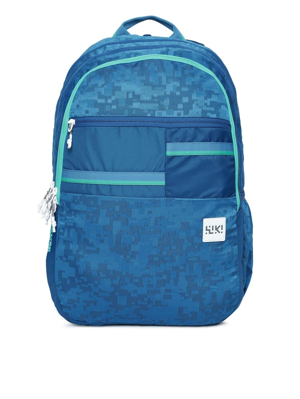Wildcraft Unisex Blue WIKI 6 Jacquard Backpack