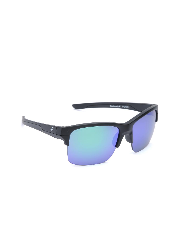 18f602644253 Buy Fastrack Men Mirrored Browline Sunglasses P421GR1 - Sunglasses ...