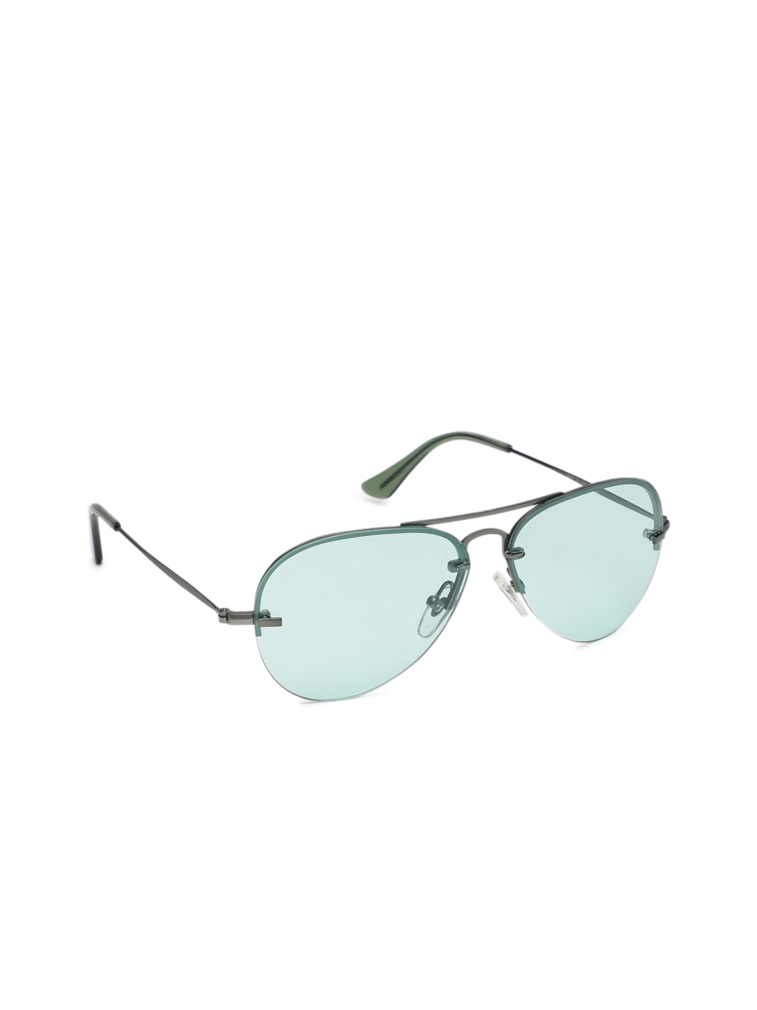 ae61325952 Buy Fastrack Men Aviator Sunglasses M205GR3 - Sunglasses for Men ...