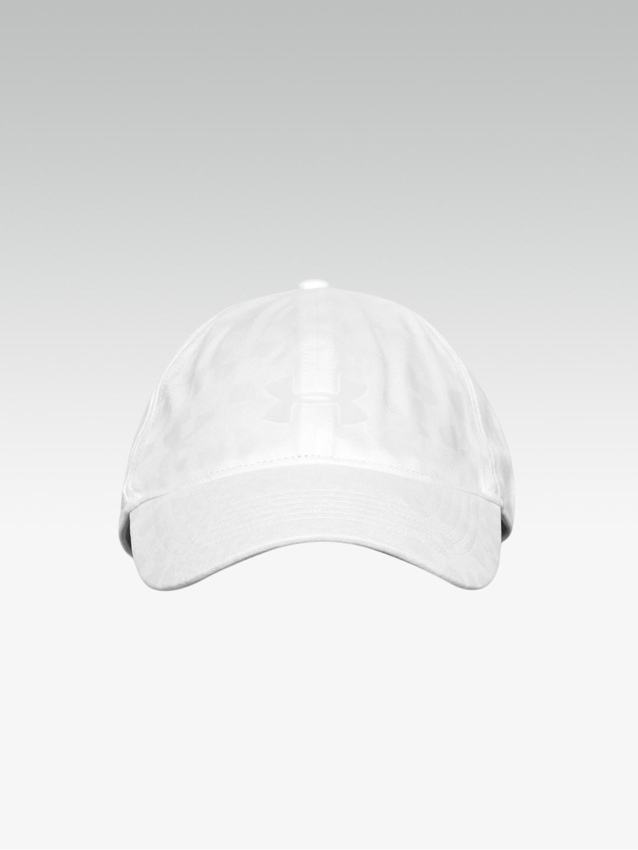 fe65a6d8bea3 Buy UNDER ARMOUR Women White Printed Renegade Tennis Cap - Caps for ...