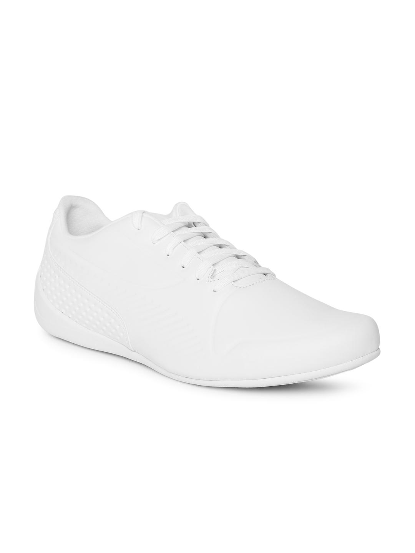 01ccf333a3 Buy Puma Men SF Drift Cat 7 Ultra LS White Leather Sneakers - Casual ...