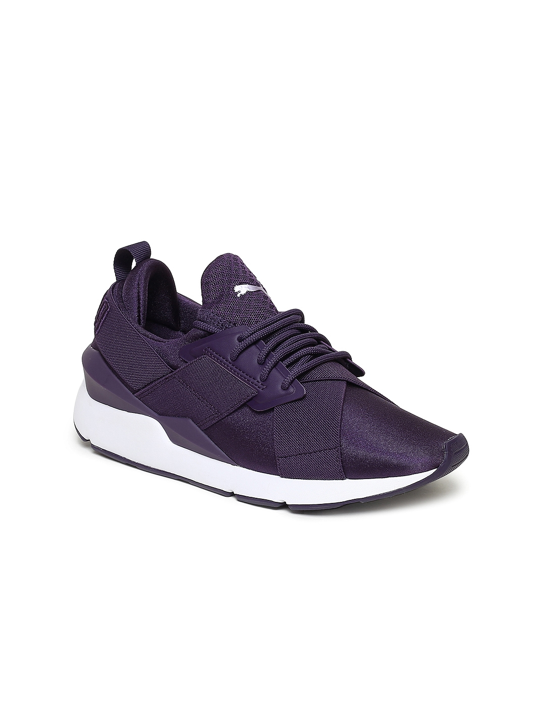 924fc5efc073 Buy Puma Women Purple Muse Satin EP Sneakers - Casual Shoes for ...