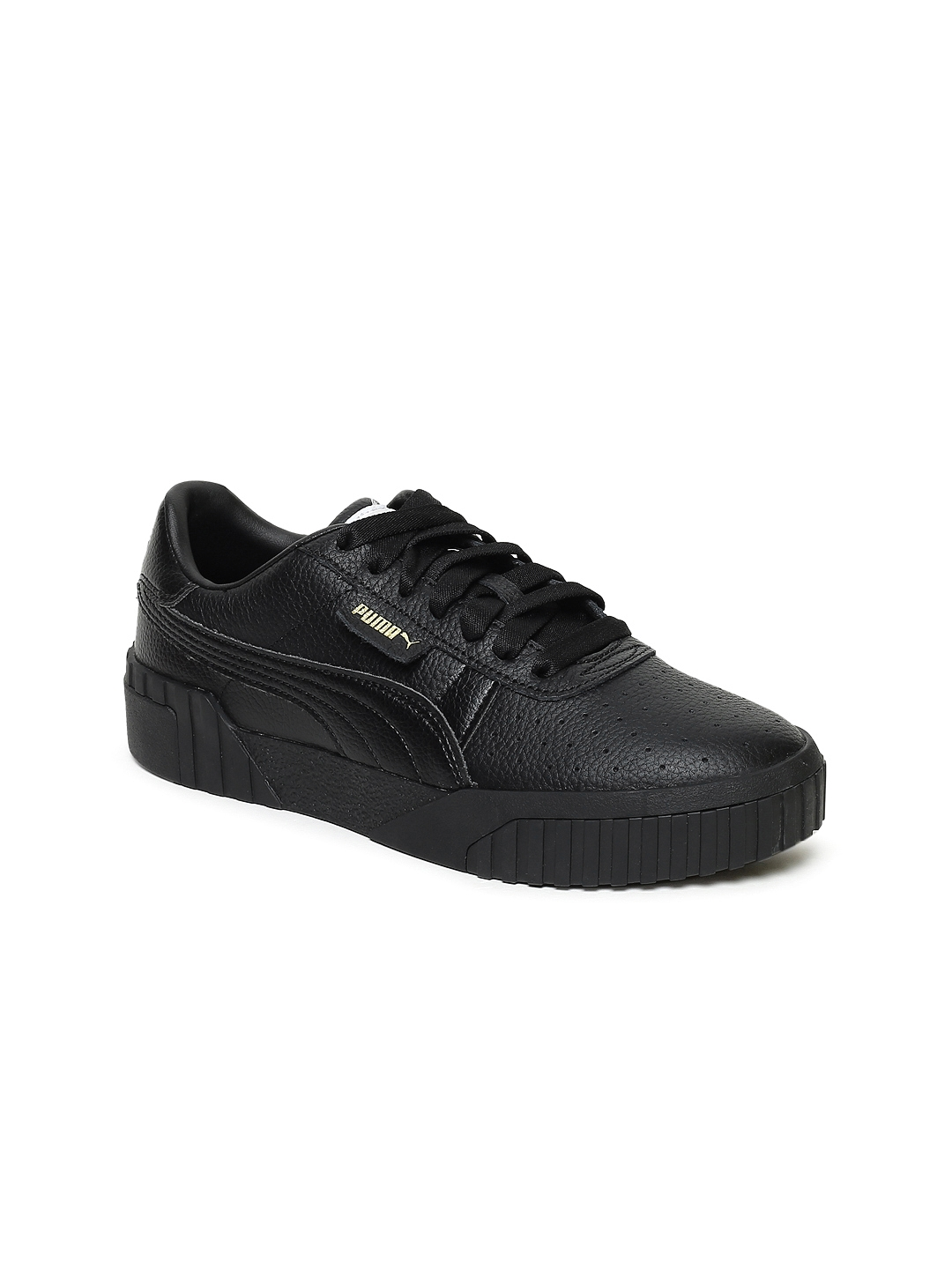 f383a27bd0973b Buy Puma Women Black Cali Leather Sneakers - Casual Shoes for Women ...