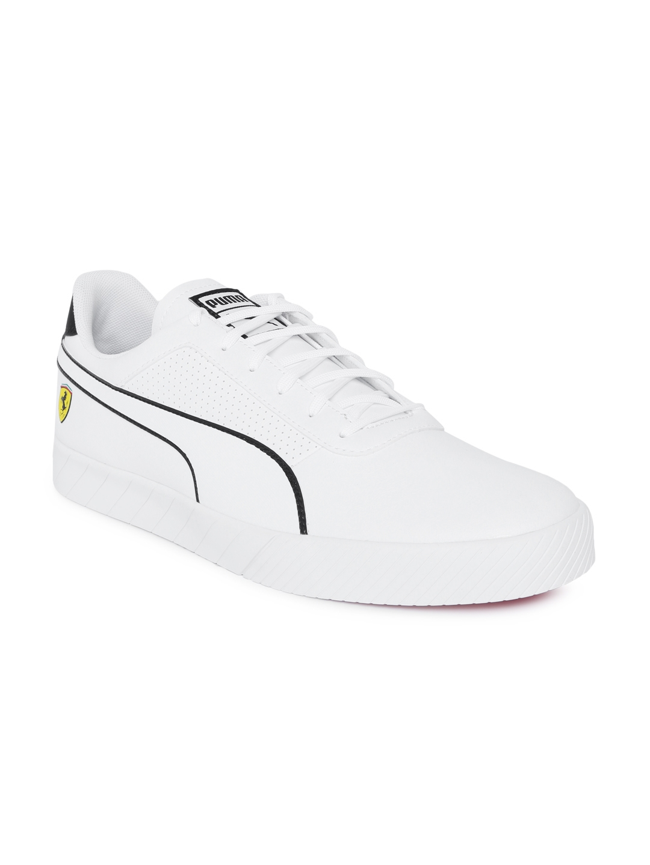 fa310b7f6c0b Buy Puma Men White SF Vulc Track Sneakers - Casual Shoes for Men ...