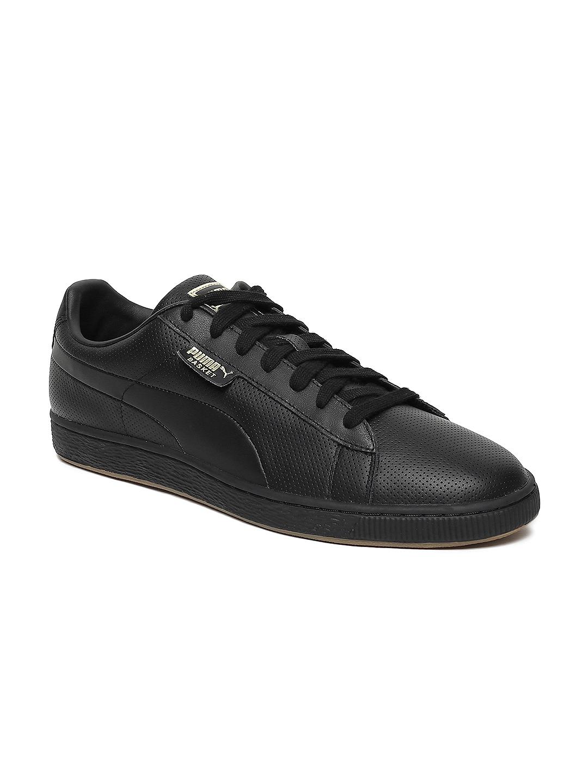 puma basket classic gum sneakers