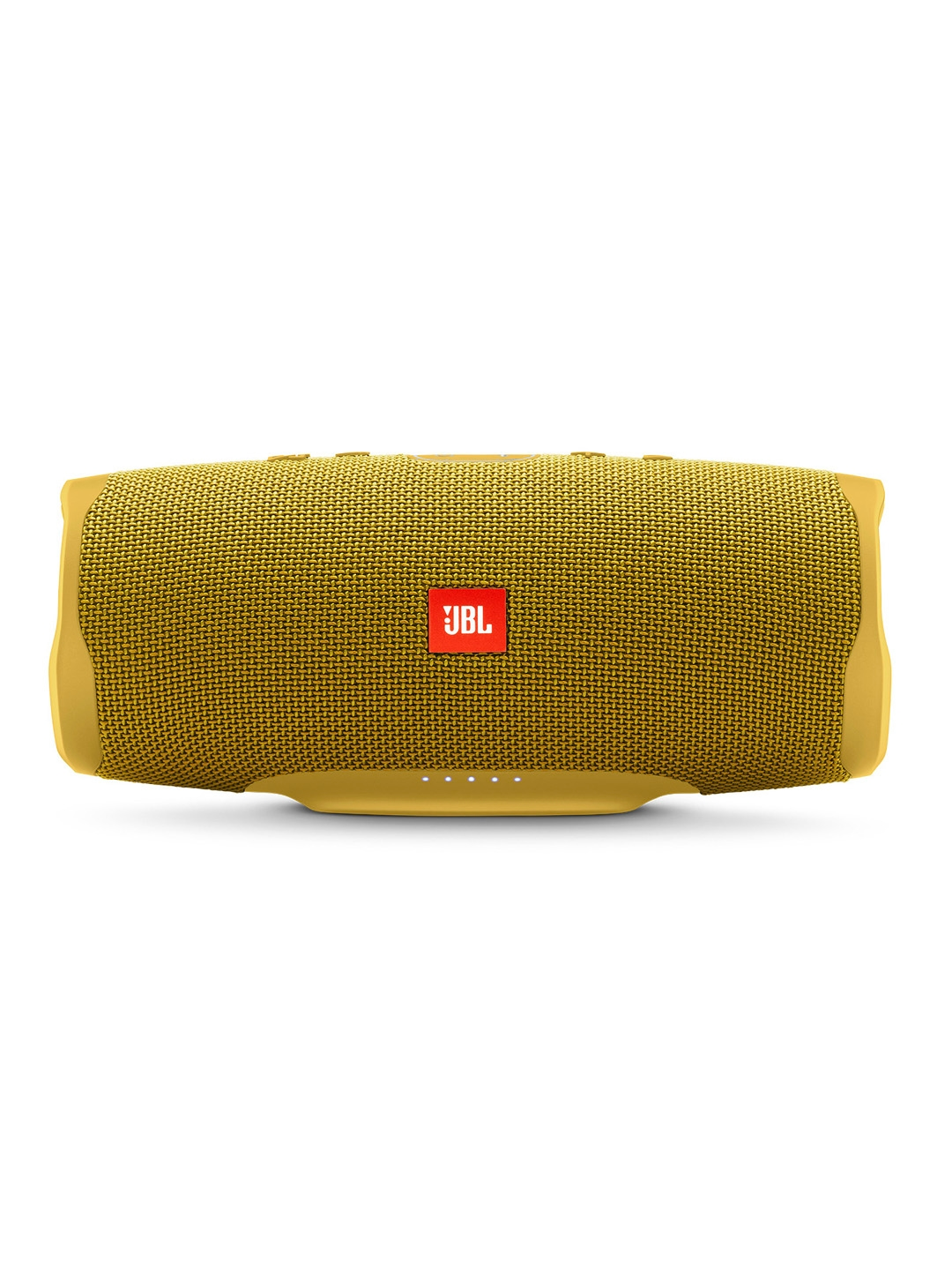 JBL Unisex Yellow Charge 4 Powerful Portable Speaker with Built in Powerbank