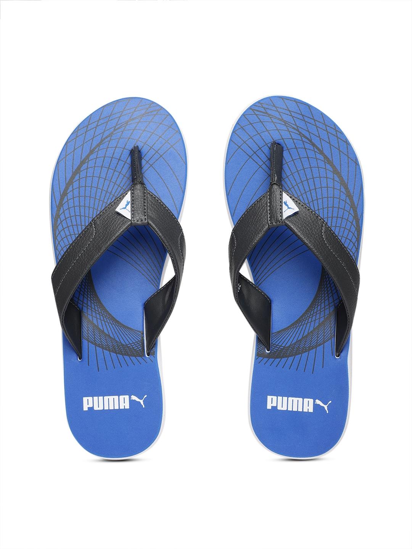32dadf54edbc Buy Puma Men Grey Solid Oleum IDP Thong Flip Flops - Flip Flops for ...