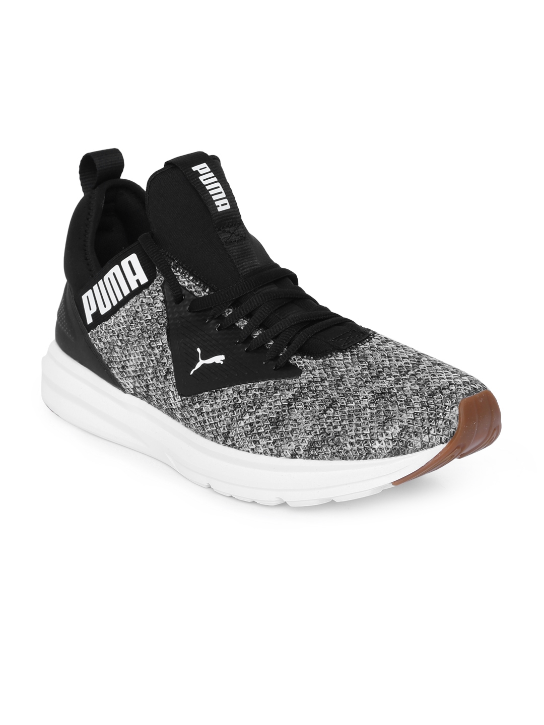 Buy Puma Men Black Enzo Beta Woven Running Shoes - Sports Shoes for ... c959ce3f3