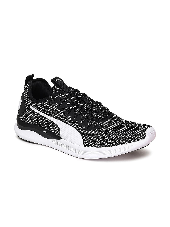 Puma Unisex Black IGNITE Flash Running Shoes