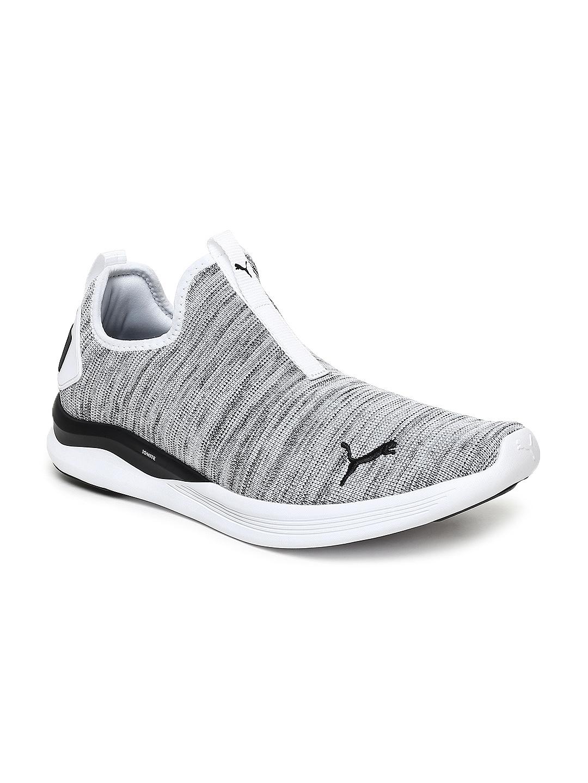 the best attitude 45ccf dd85b Puma Men White & Black IGNITE Flash Summer Slip Training Shoes
