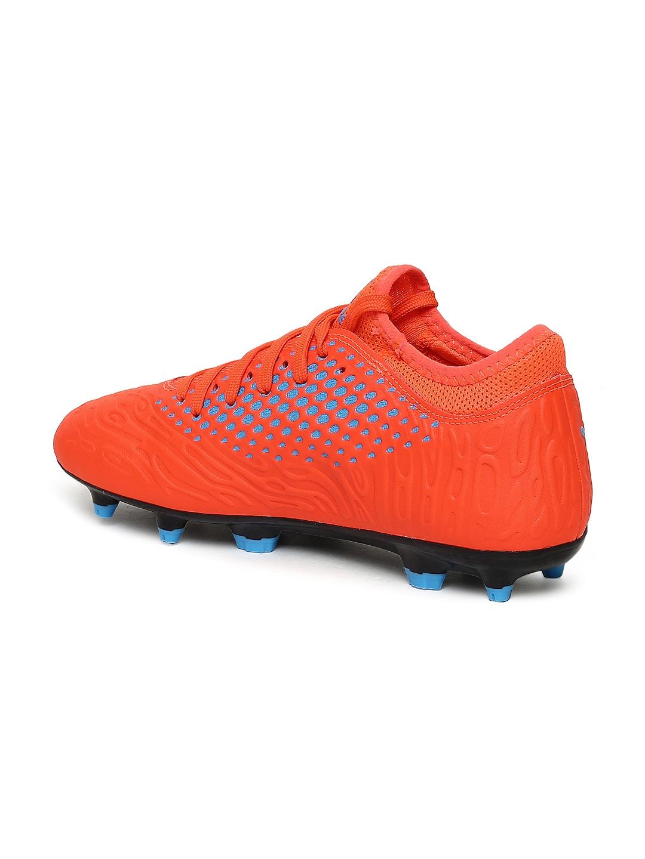 89cb18f728445 Buy Puma Kids Orange FUTURE 19.4 FG AG Jr Football Shoes - Sports ...