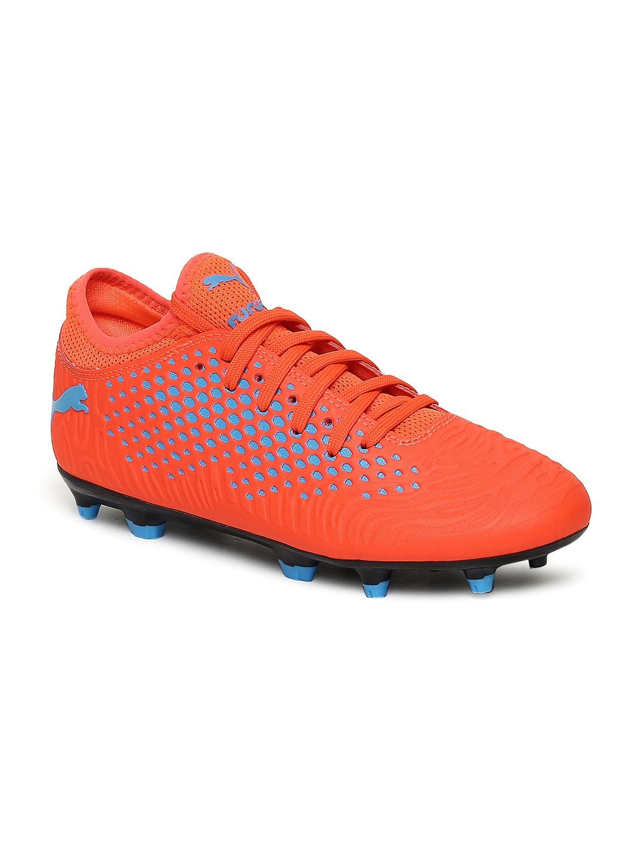 e2dcb4d38724 Buy Puma Kids Orange FUTURE 19.4 FG AG Jr Football Shoes - Sports ...