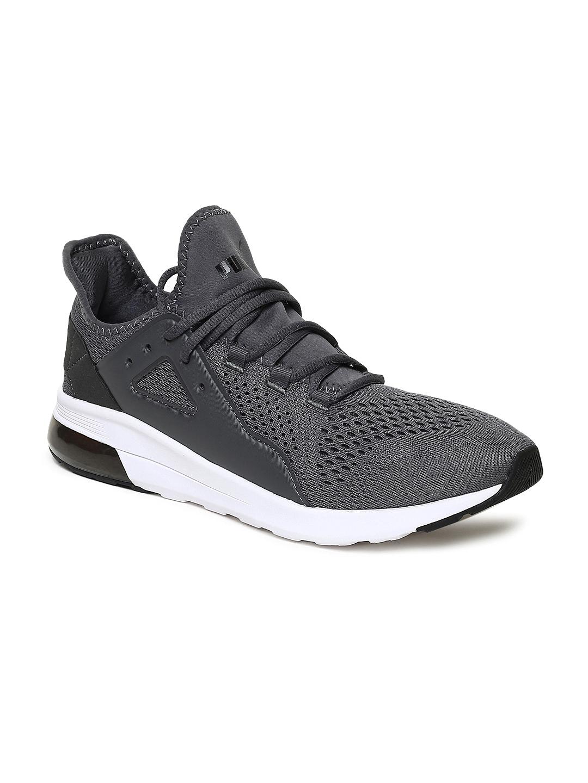 d5384baae Buy Puma Men Grey Electron Street Eng Mesh Running Shoes - Sports ...