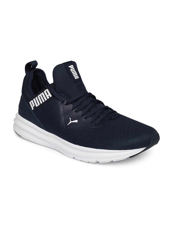 Buy Puma Men Navy Blue Enzo Beta Running Shoes - Sports Shoes for ... e45814646