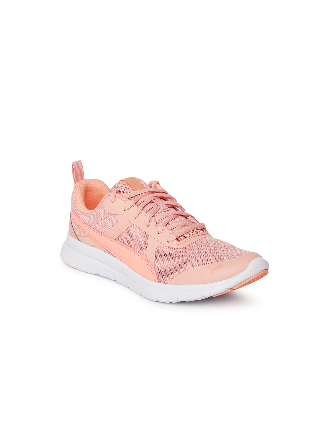 Buy Puma Girls Peach Coloured Flex Essential Jr Training Shoes ... 084a4e93c
