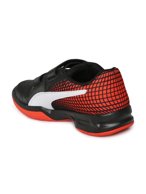 ddfe23322378 Buy Puma Kids Black Veloz Indoor NG V Jr Badminton Shoes - Sports ...