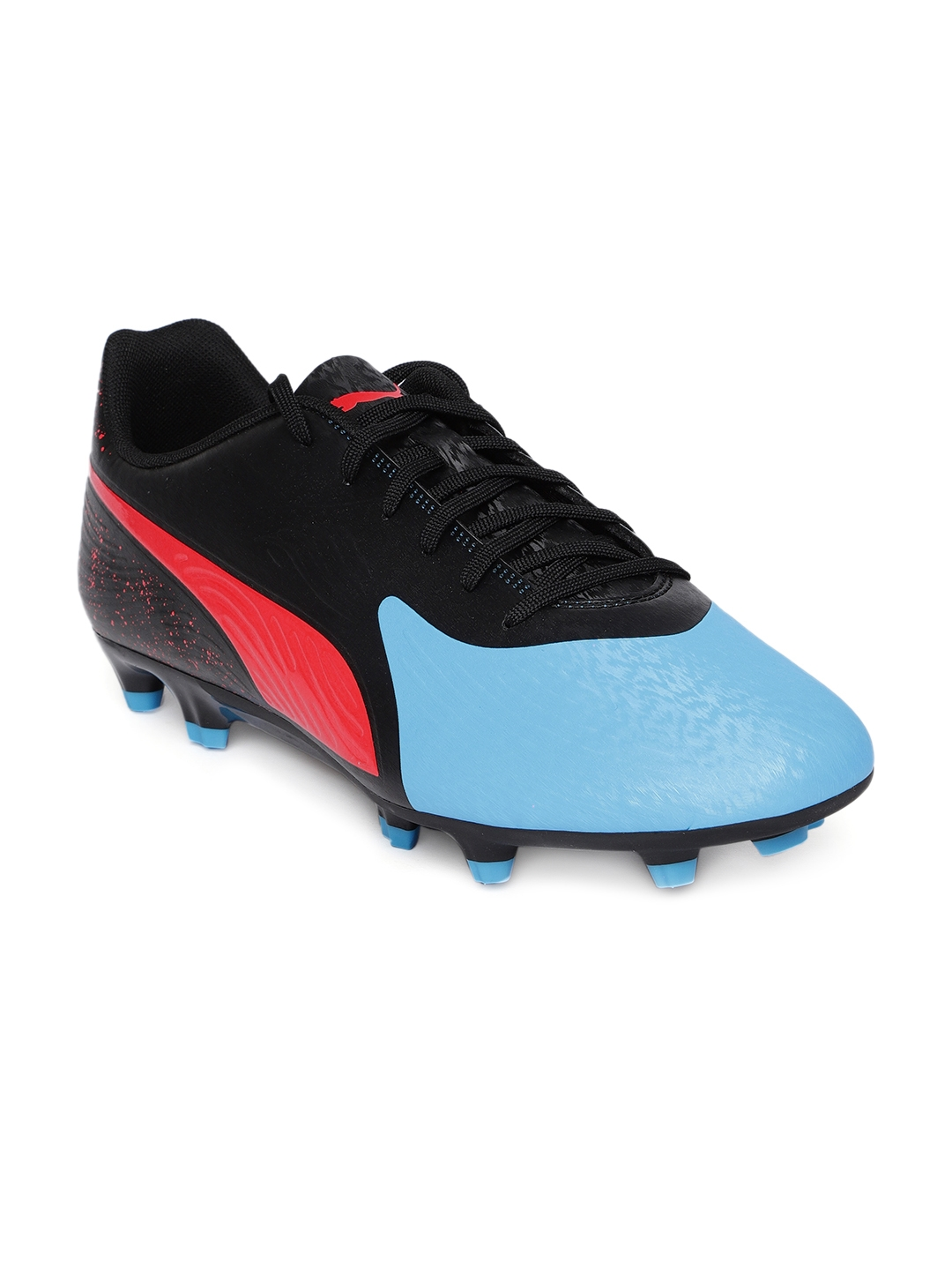 2e66aca8195 Buy Puma Men Blue   Black ONE 19.4 FG AG Football Shoes - Sports ...