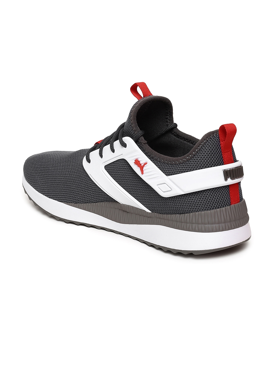 Buy Puma Men Charcoal Grey Pacer Next Excel Sneakers - Casual Shoes ... 3323e9eeb