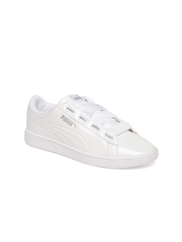 Buy Puma Women White Vikky Ribbon P