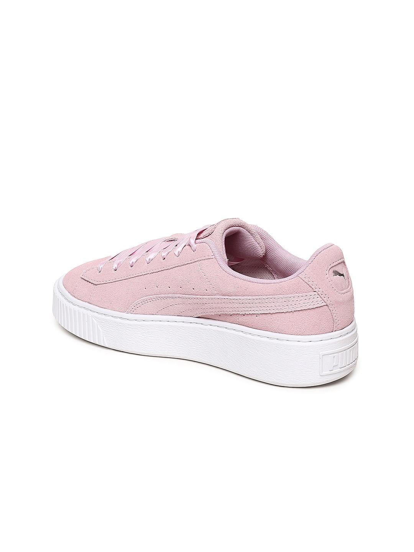 faeac2287505 Buy Puma Women Pink Platform Galaxy Suede Sneakers - Casual Shoes ...