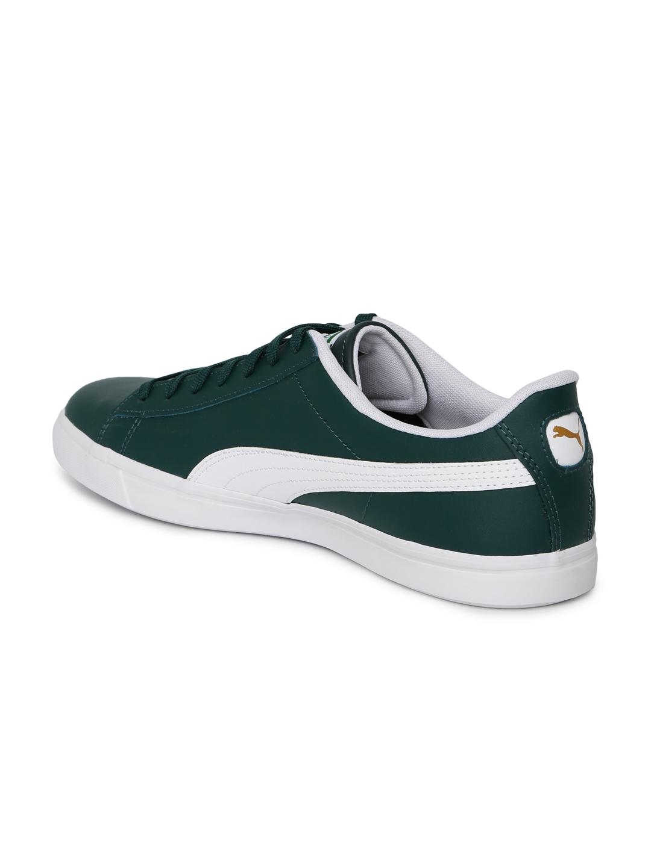 7cba949916d05 Buy Puma Kids Unisex Green Court Star Vulc FS Leather Sneakers ...
