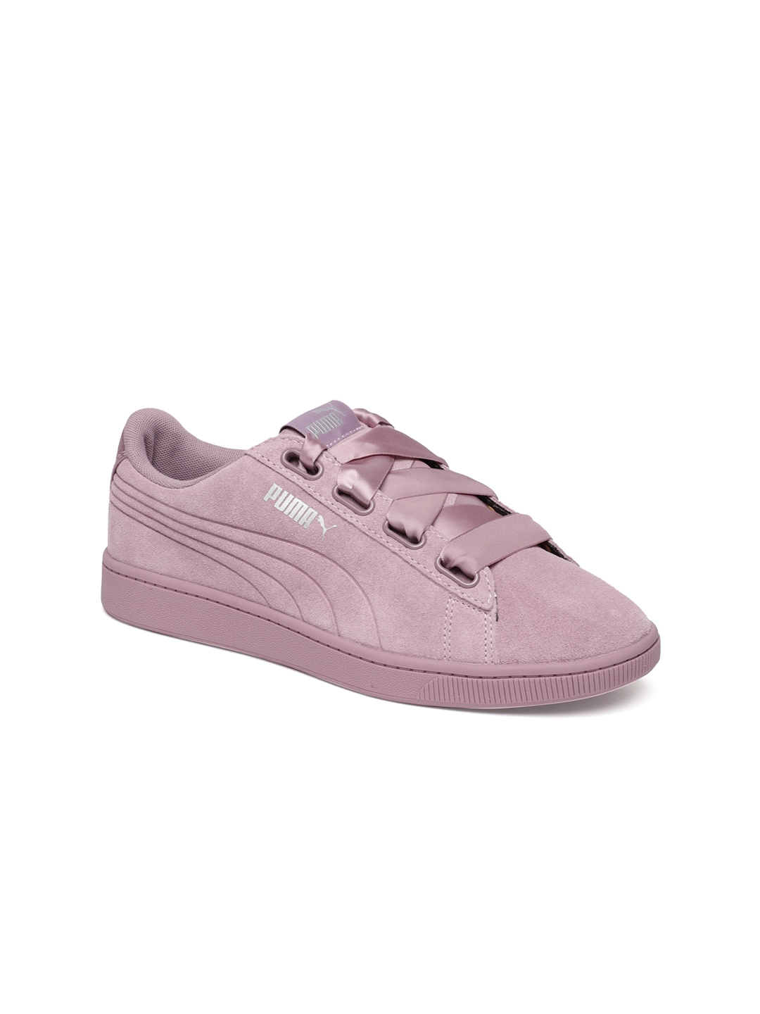 21bcc4787e Buy Puma Women Purple Vikky V2 Ribbon Suede Sneakers - Casual Shoes ...