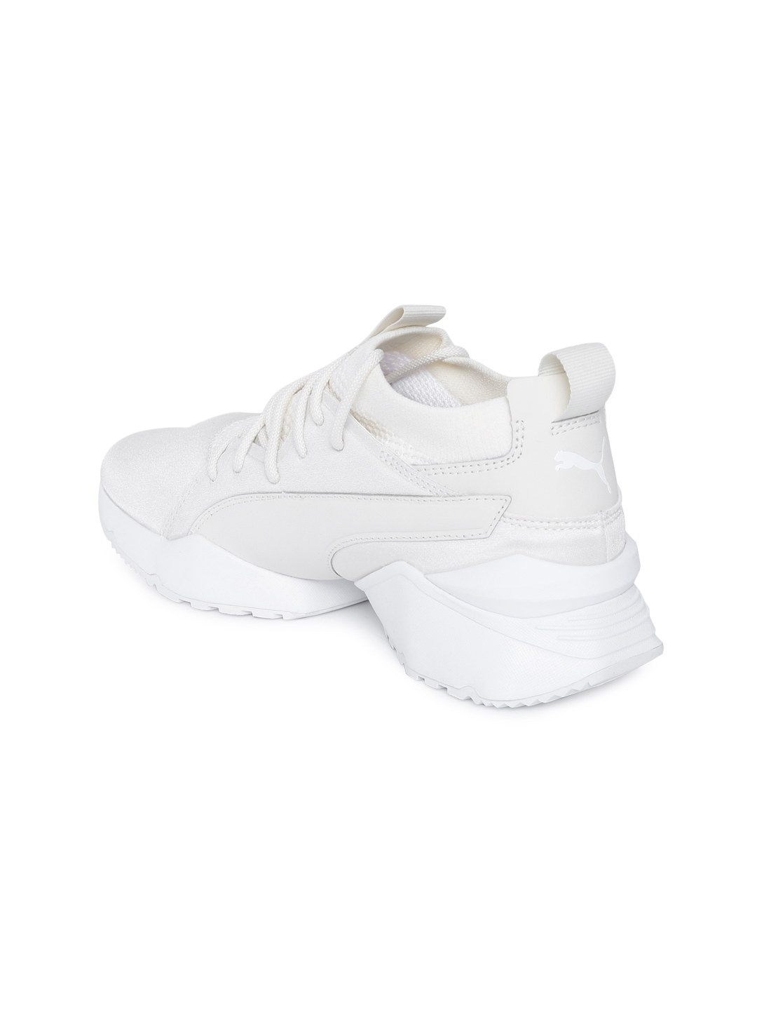 00098193a066 Buy Puma Women Off White Muse Maia Knit Premium Sneakers - Casual ...