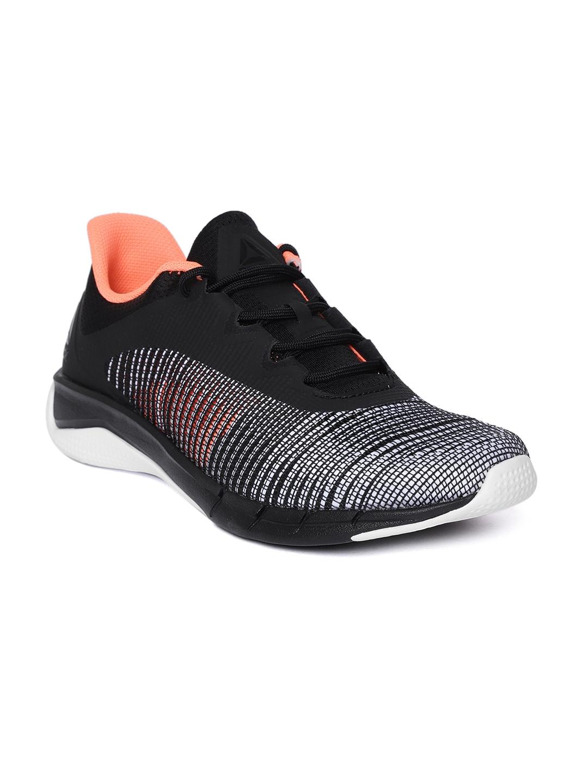 Buy Reebok Men Black Fast Tempo Flexweave Running Shoes - Sports ... 9e9588b09