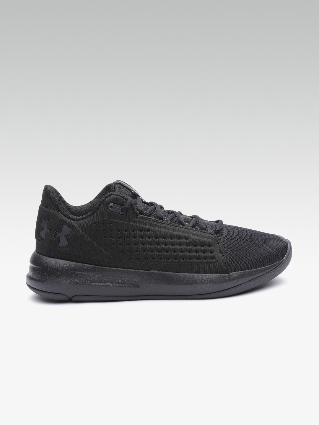 newest collection 8d975 ee9fc UNDER ARMOUR Men Black UA Torch Low Basketball Shoes