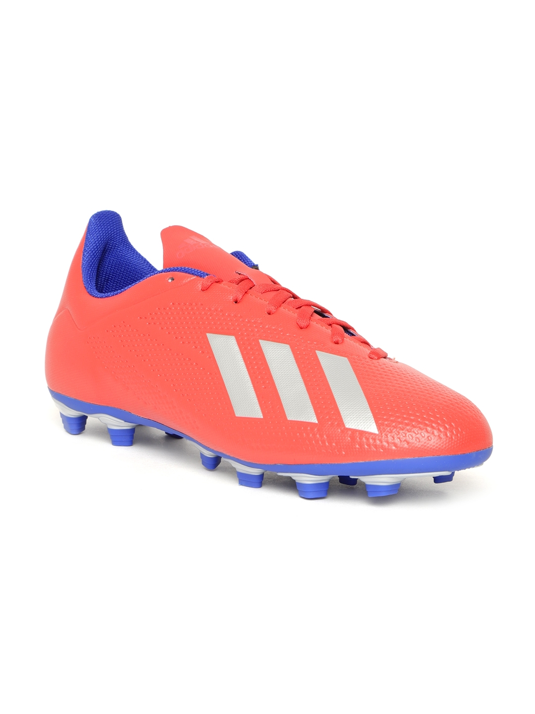 e12e927f6 Buy ADIDAS Men Red X 18.4 Firm Ground Football Shoes - Sports Shoes ...