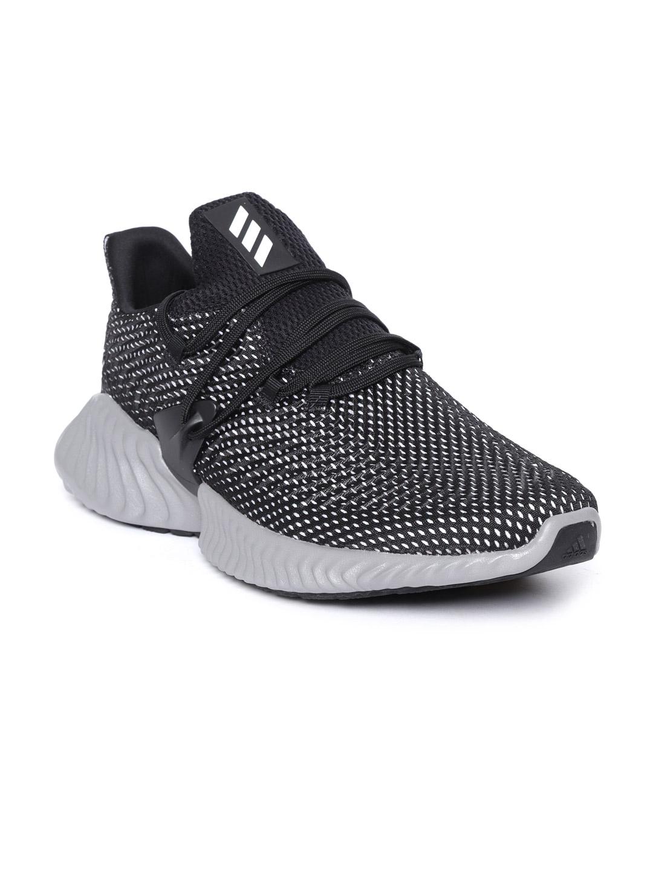 4800f35c8a635 Buy ADIDAS Men Black Alphabounce Instinct Running Shoes - Sports ...