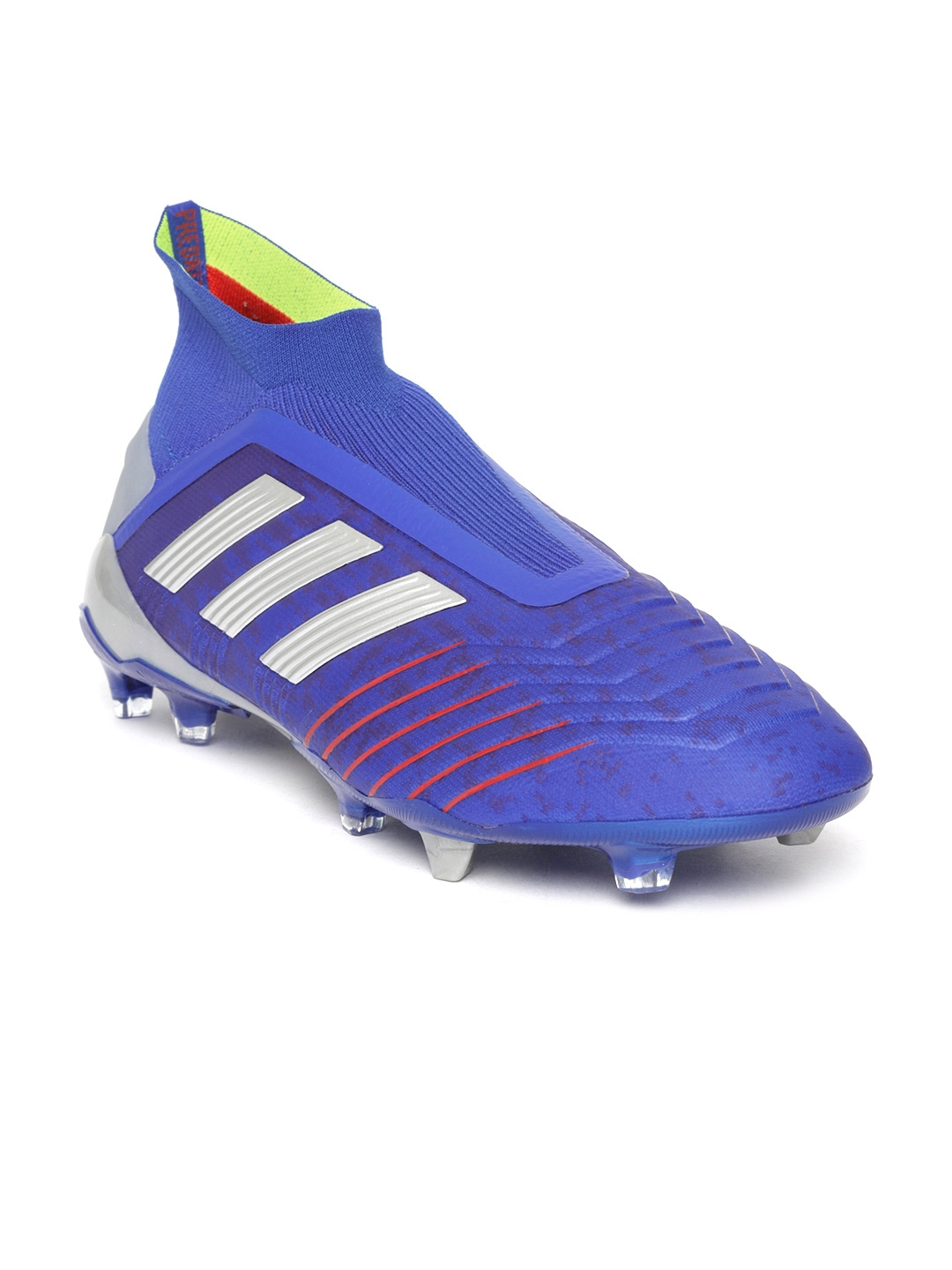 8dbebac7f ADIDAS Men Blue PREDATOR 19+ Firm Ground Football Shoes. This product is  already at its best price