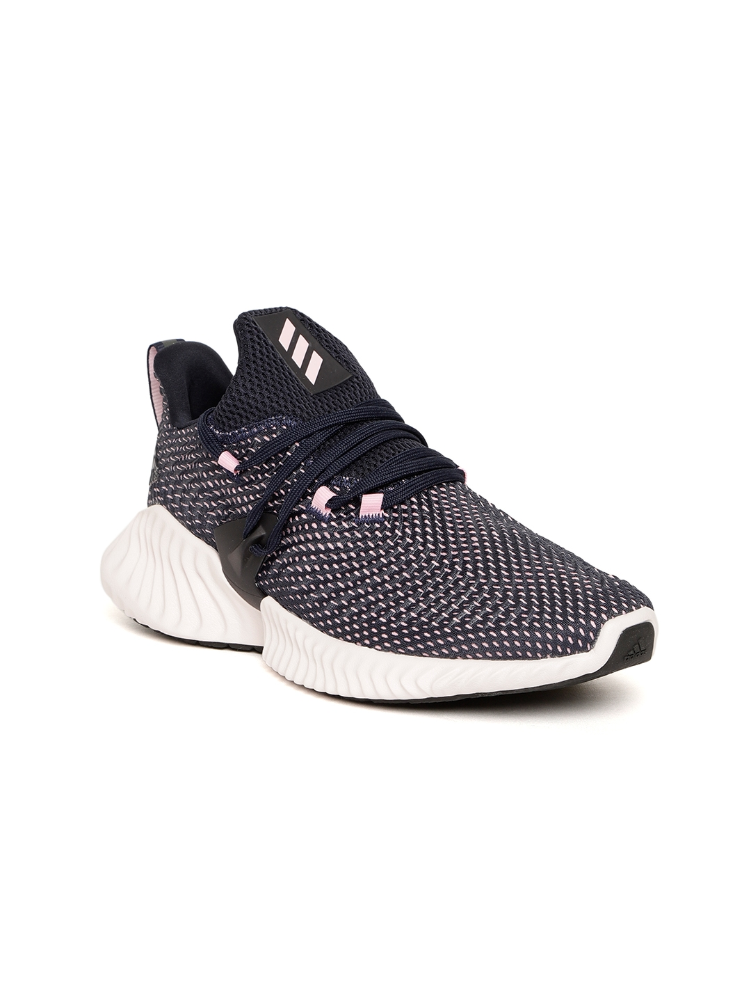 50f1c433f63 Buy ADIDAS Women Navy   Pink Alphabounce Instinct Running Shoes ...